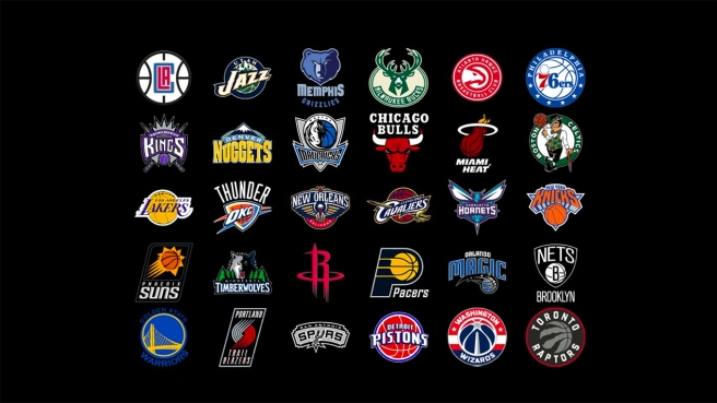 All 30 NBA team logos