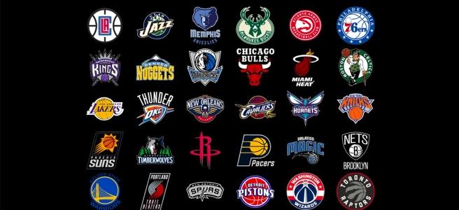 All 30 NBA team logos