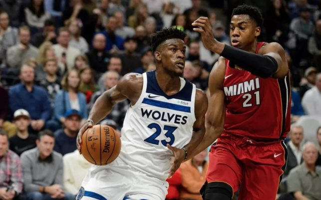 Butler takes on Whiteside of the Miami Heat