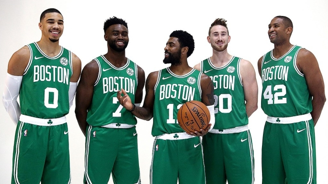 Boston Celtics Starters.