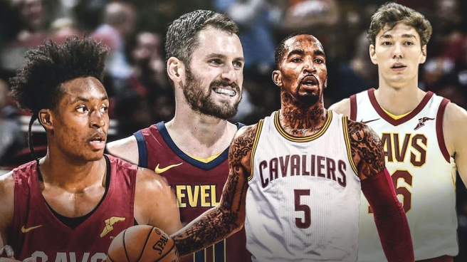 The Cavs lineup for the 2018-19 season