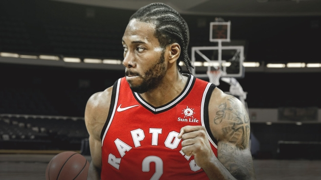 Kawhi Leonard of the Toronto Raptors