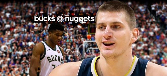 Giannis Antetokounmpo and the Milwaukee Bucks take on Nikola Jokic and the Denver Nuggets