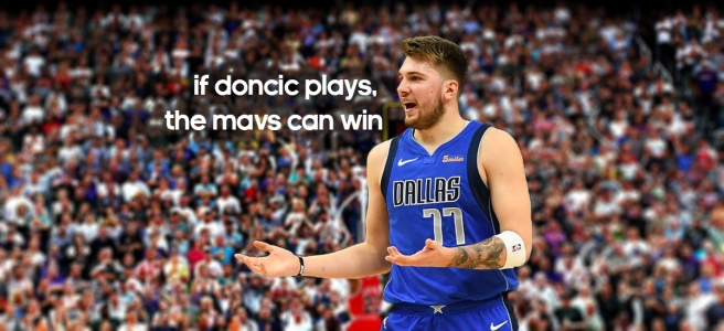 If Doncic Plays, The Mavs Can Win